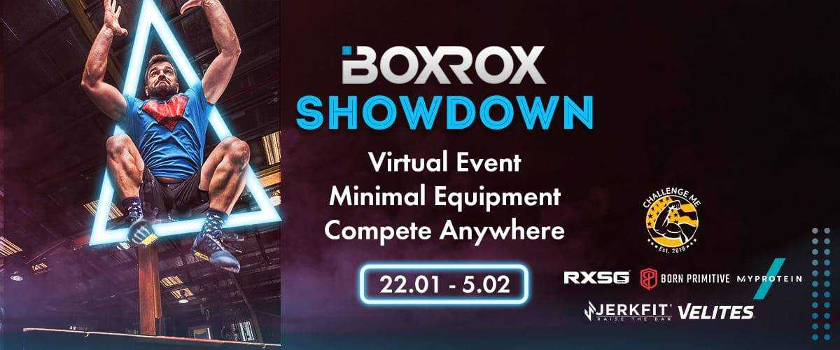 boxrox showdown fitness competition